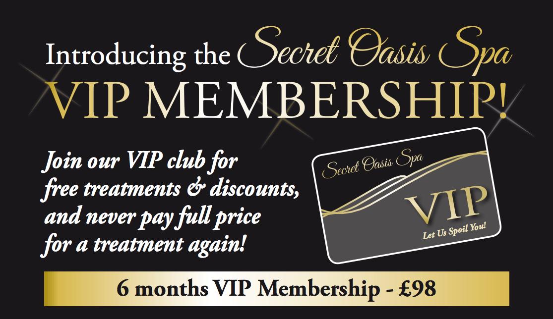 New VIP membership!