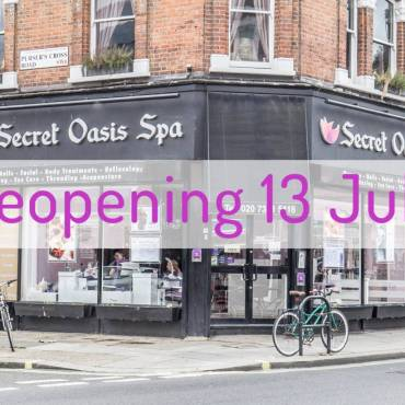 Reopening Monday 13 July!